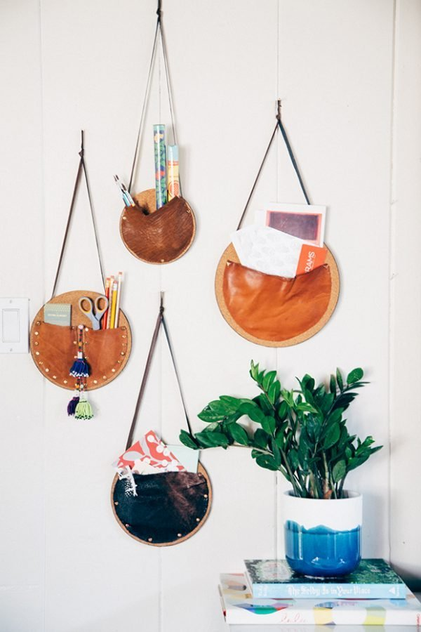 Creative diy projects for home office organization