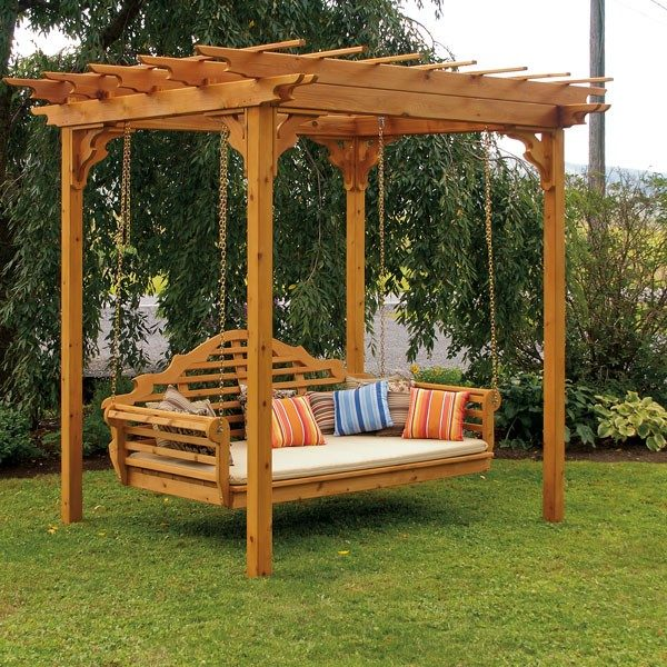 Beautiful outdoor swing 1