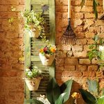 Reuse old wooden shutters