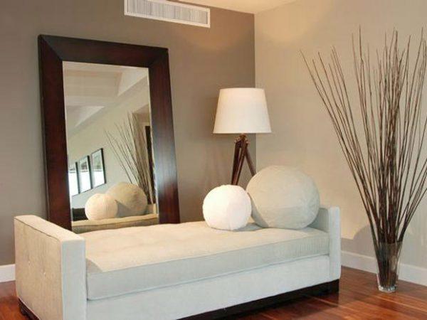 oversized mirrors living room