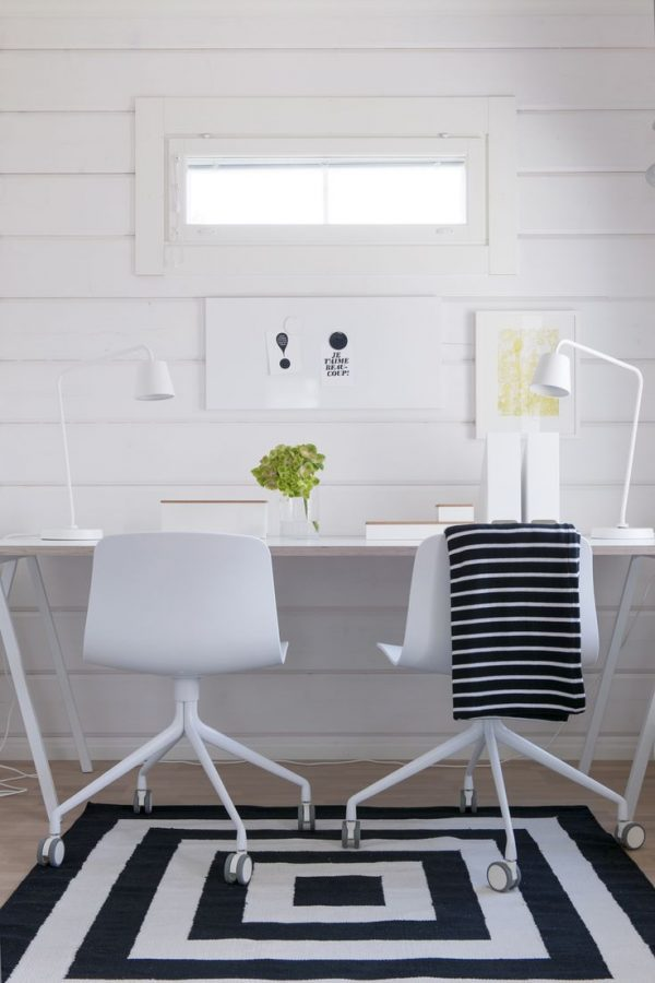 Office space design idea for two person