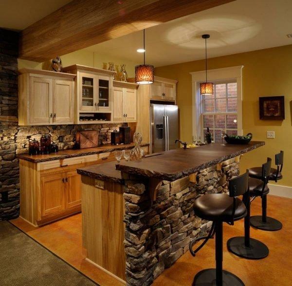 stone kitchen designs