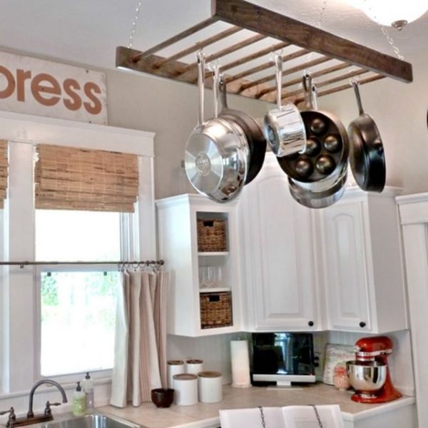 diy ways to reuse an old ladder 7