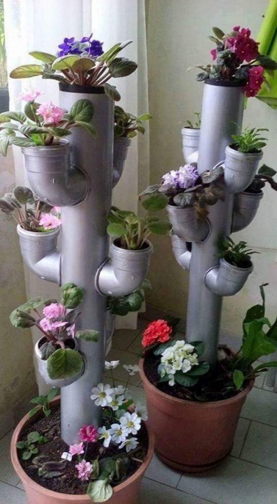pvc planters