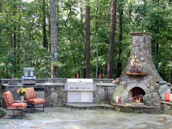 outdoor summer kitchen ideas
