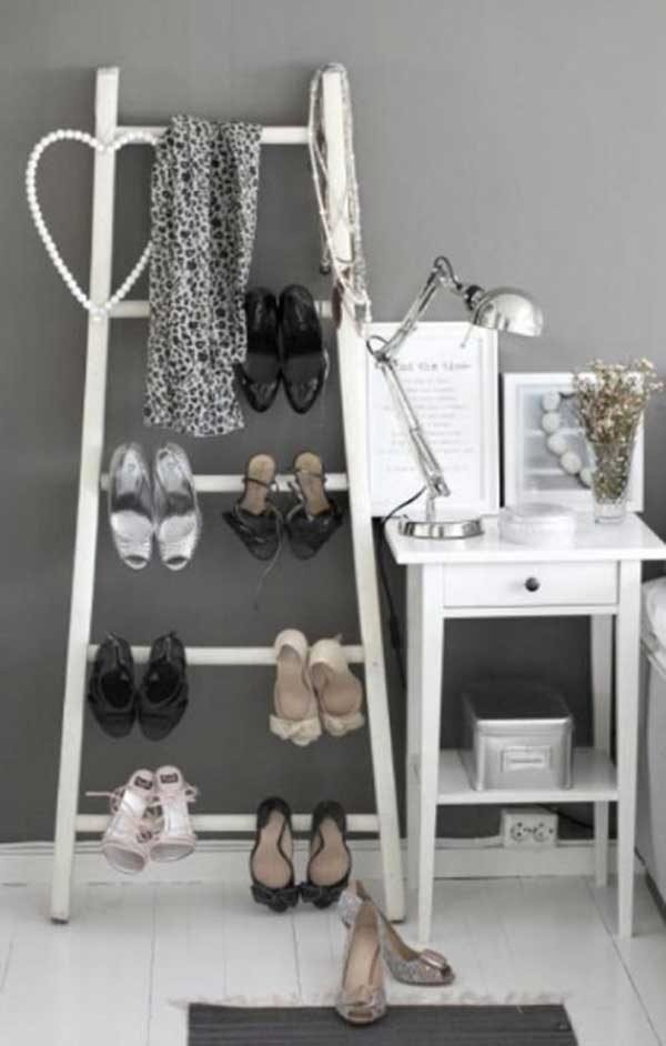 diy ways to reuse an old ladder 10
