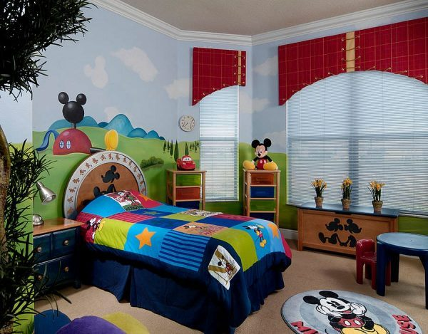 disney kids rooms