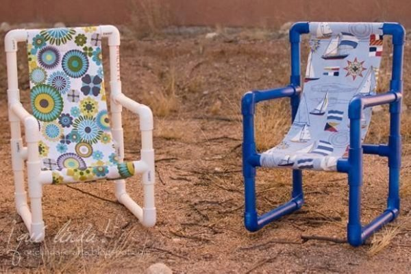 pvc pipe chairs