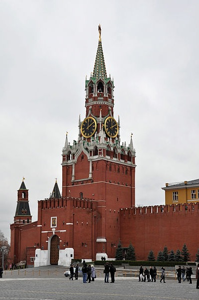 Spasskaya-Clock-Tower-Russia
