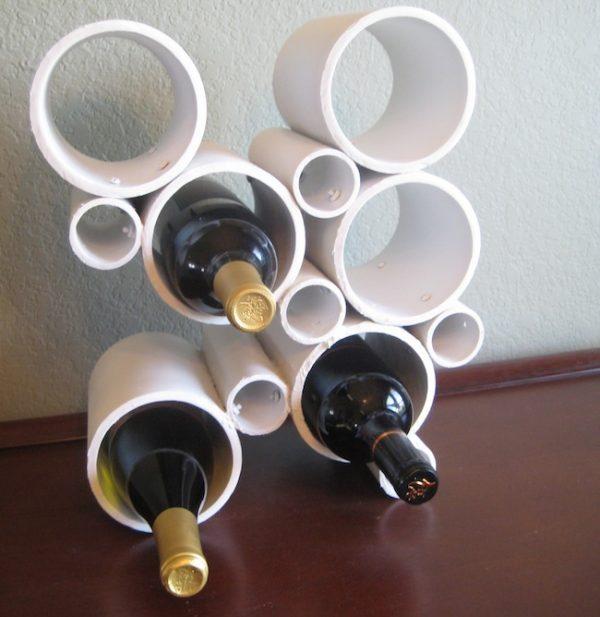 pvc pipe storage ideas