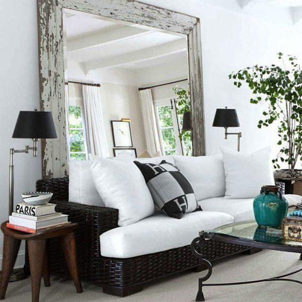 large mirror for living room