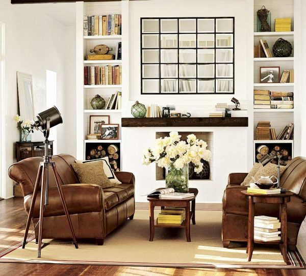 living room mirrors decoration