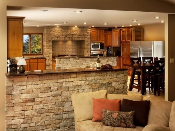 stone kitchen design