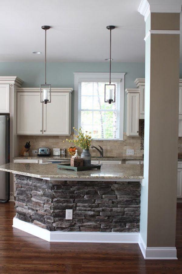 stone kitchen design 1