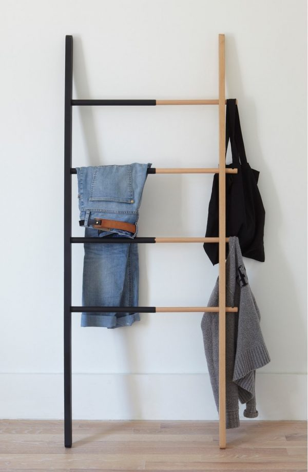 wood coat rack wall