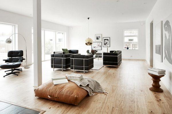 Contrast interior design