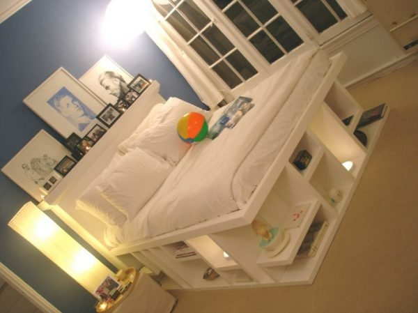 full storage bed with drawers