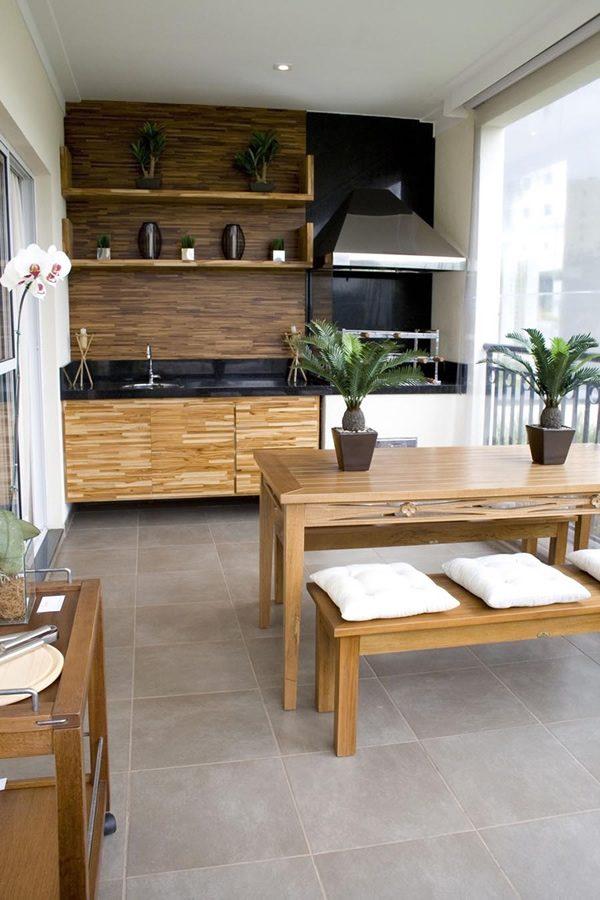 Kitchen Balcony Design Ideas