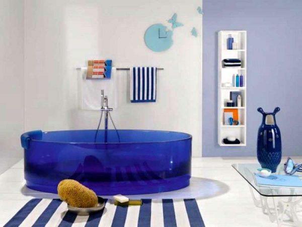 striped bathroom rugs