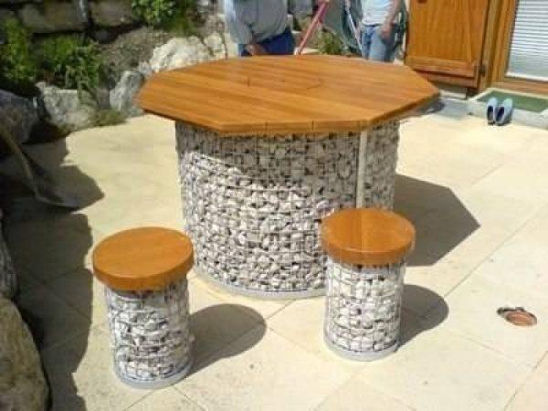 gabion furniture