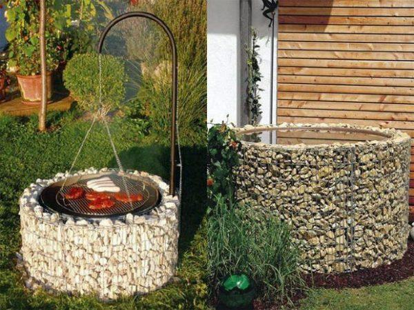 Gabion garden ideas 1