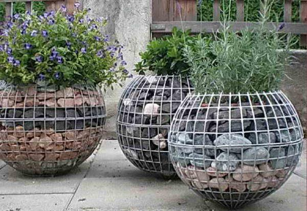gabion planter box 1