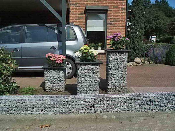 gabion planter box
