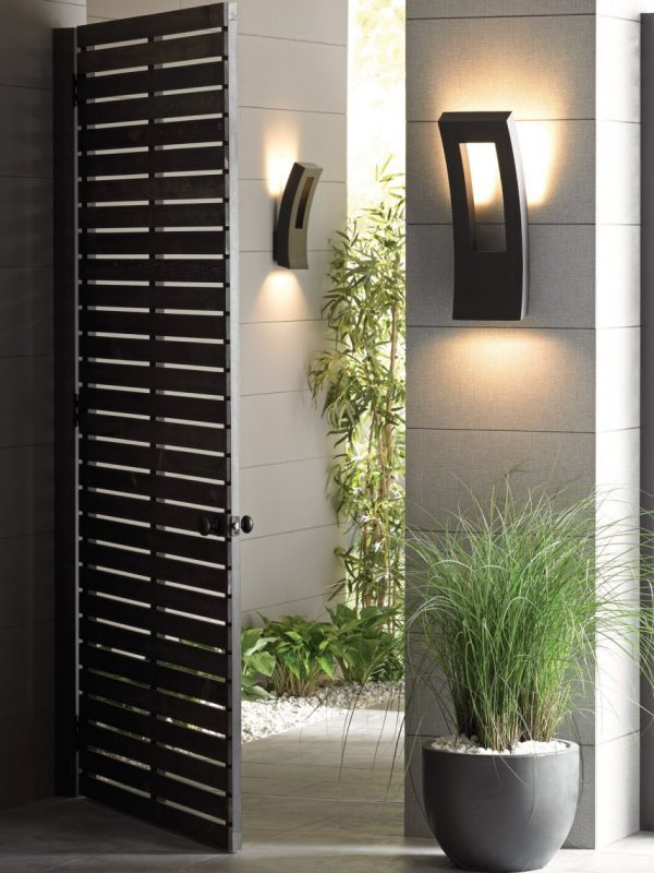 12 modern outdoor lighting sconces for fun evenings on your terrace image credit exterior lighting sconces mozeypictures Images