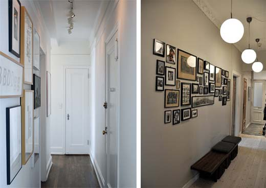 decorating ideas for hallway walls