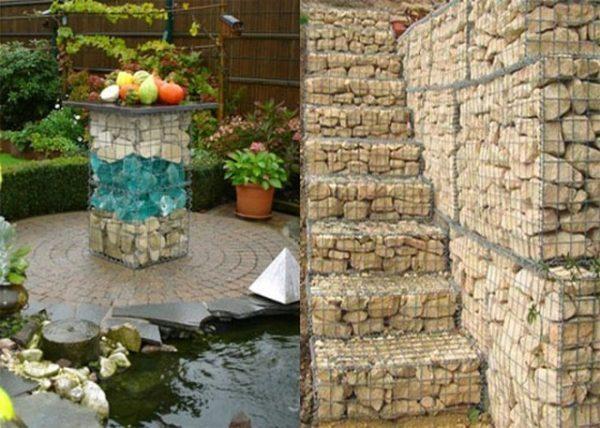 gabion garden design