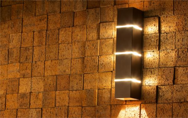 Modern outdoor lighting sconces