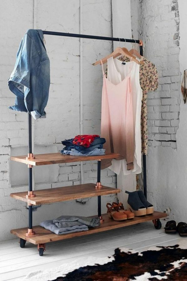 entryway coat rack