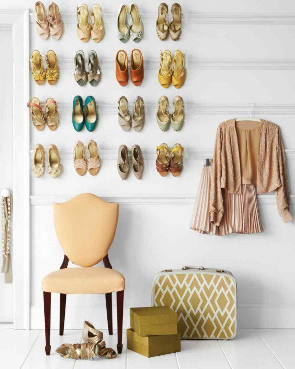 metal wall mounted coat rack