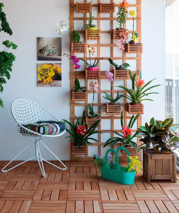Vertical garden design ideas