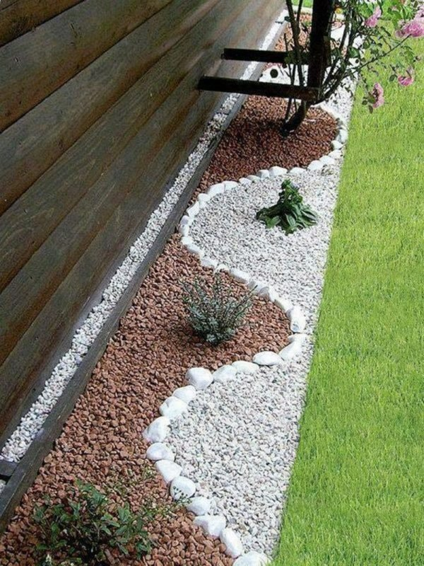 decorative stones for backyard