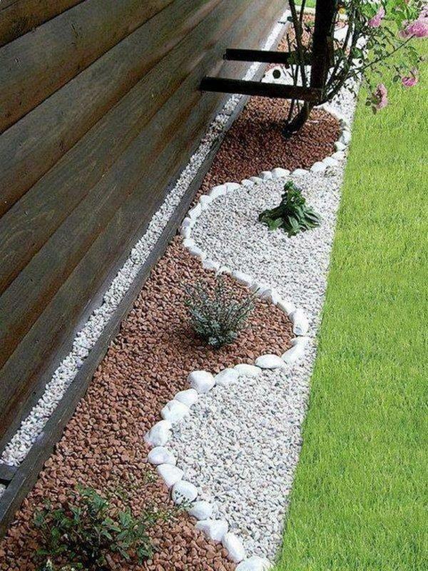 decorative stones for backyard