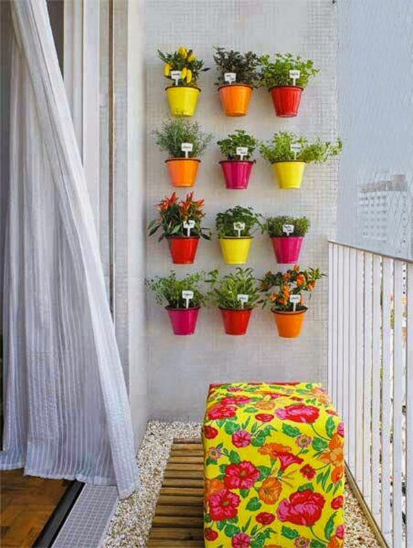 homemade vertical garden
