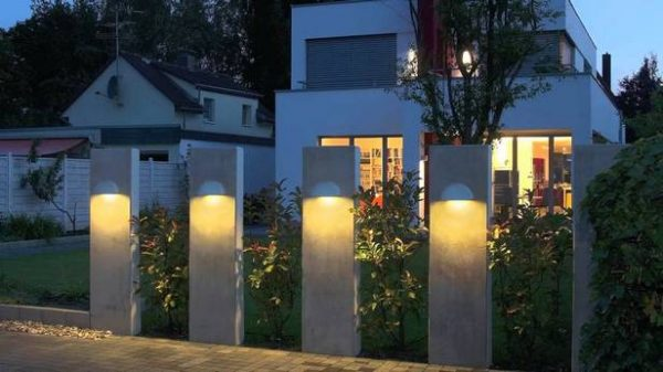 12 modern outdoor lighting sconces for fun evenings on your terrace little piece of me for Contemporary exterior wall lights