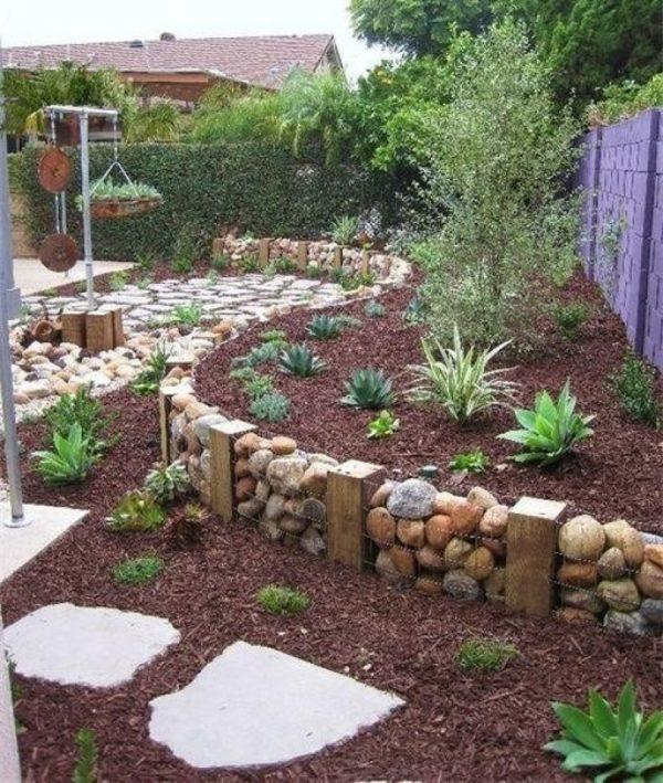 gabion fence design