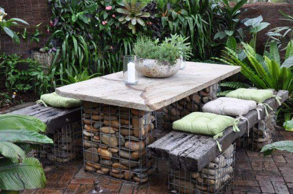 gabion furniture 1
