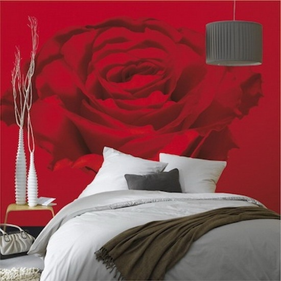flower wallpaper for bedroom