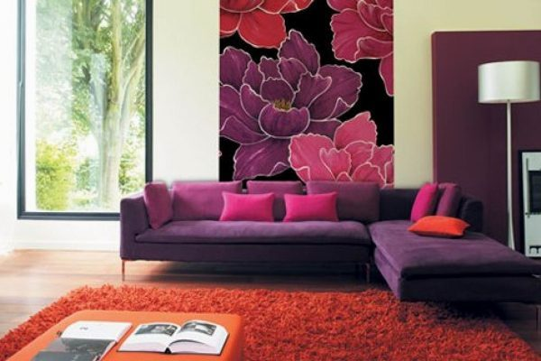 flower designs for walls