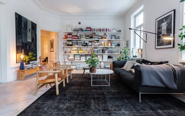 Nordic stockholm with scandinavian style