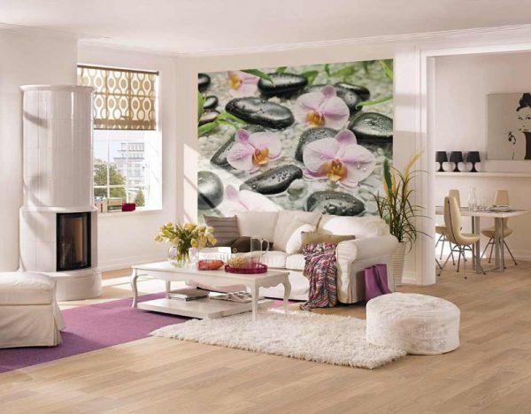 modern floral wallpaper designs
