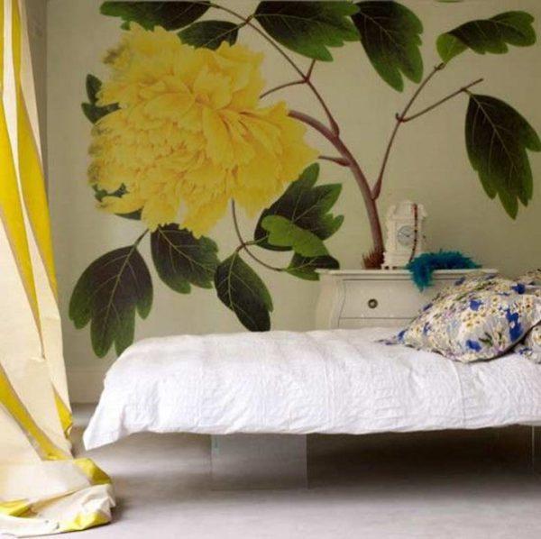 floral bedroom ideas