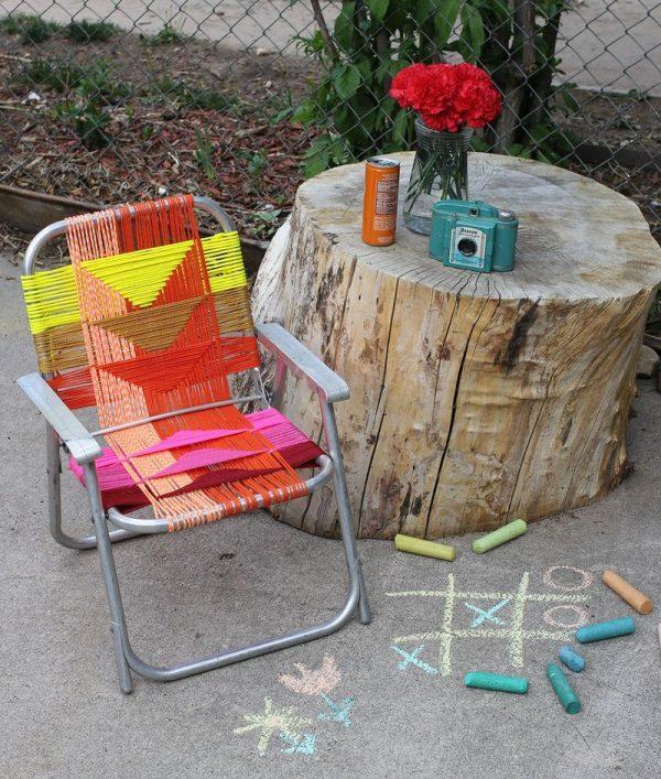 chair weaving patterns