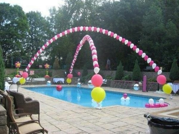 Cool pool party ideas