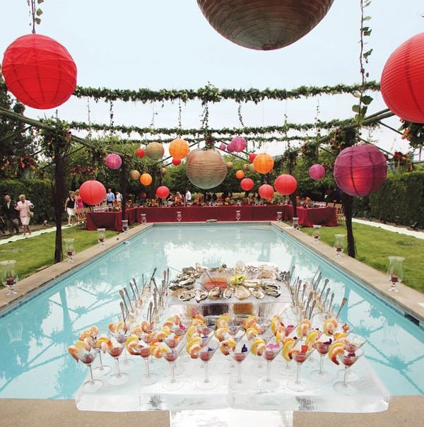 Cool pool party decor ideas little piece of me for Deco decorations