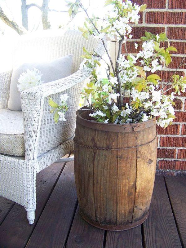 wine barrel home decor