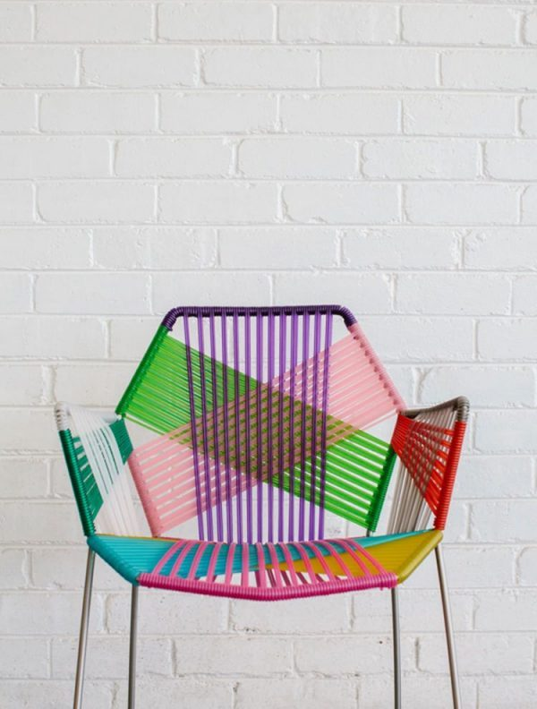 how to weave a chair seat with rope